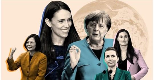 女性領導人抗疫有成!