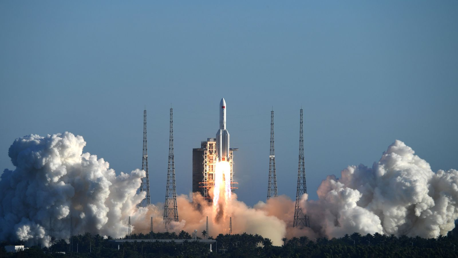太空爭霸 中國成功從海南島發射火箭