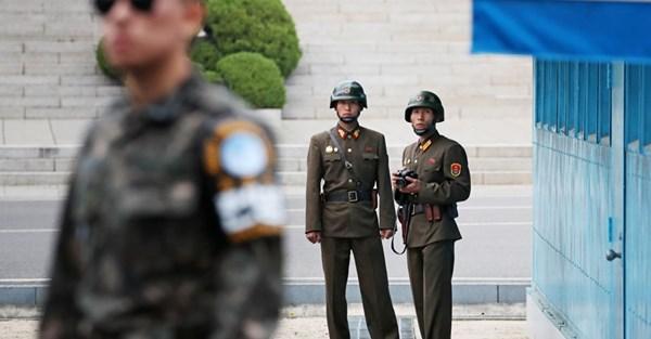 驚!南北韓邊境交火