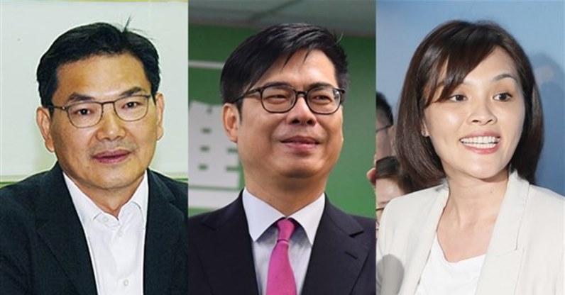 高雄市長補選 藍綠白參選人出爐