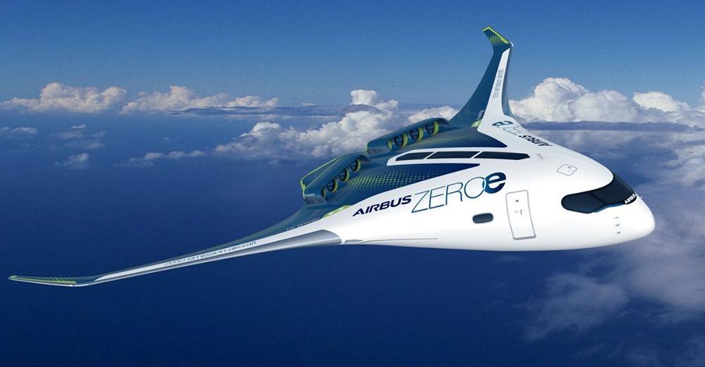 空中巴士為零排放飛行建造氫動力飛機